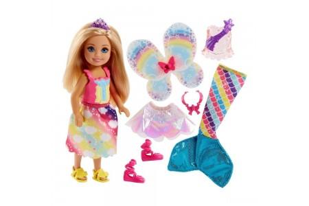 Barbie Dreamtopia Chelsea Doll and Fashions Sale