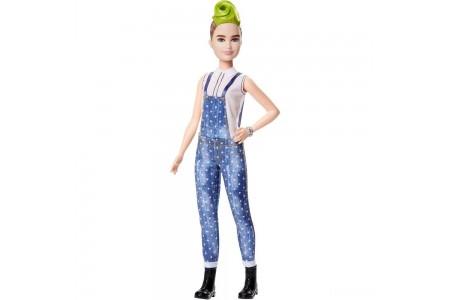 Barbie Fashionistas Doll #124 Green Mohawk Sale