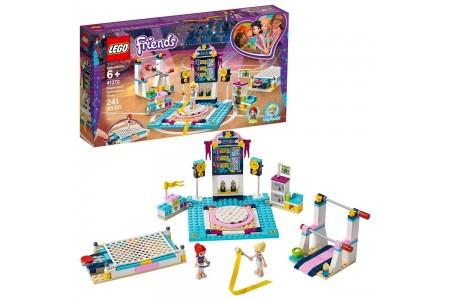 LEGO Friends Stephanie's Gymnastics Show 41372 Building Set with Gymnastics Toys 241pc sales