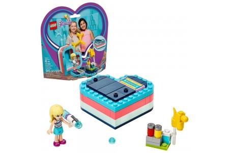 Black Friday 2020 | LEGO Friends Stephanie's Summer Heart Box 41386 Portable Toy Building Set, Stephanie Mini Doll 95pc sales