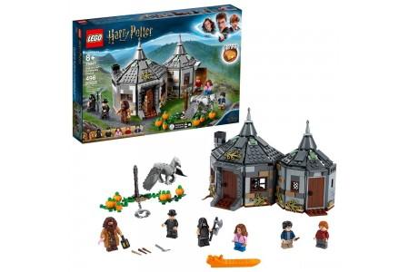 LEGO Harry Potter Hagrid's Hut: Buckbeak's Rescue Building Set with Hippogriff Figure 75947 Sale