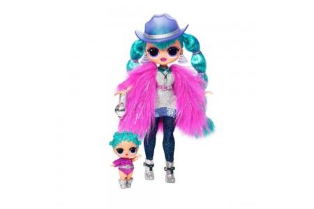 L.O.L. Surprise! O.M.G. Winter Disco Cosmic Nova Fashion Doll & Sister Free Shipping