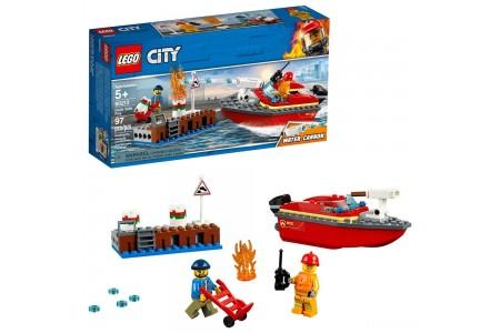 LEGO City Dock Side Fire 60213 Sale