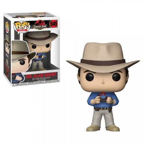 Black Friday 2020 | Funko POP! Movies: Jurassic Park 25th Anniversary - Dr. Alan Grant - Minifigure Sales