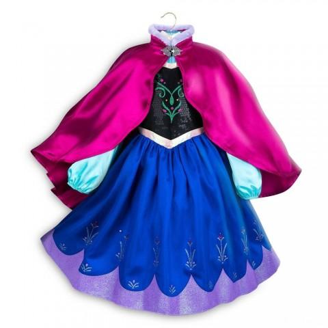 Disney Frozen 2 Anna Kids' Dress - Size 7-8 - Disney store, Girl's, Blue Sale