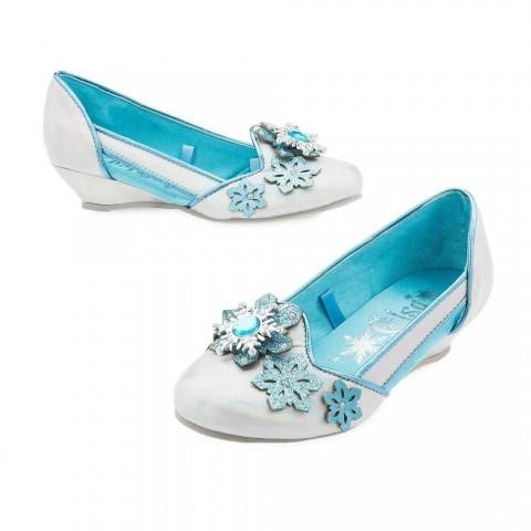 Disney Frozen 2 Elsa Kids' Dress-Up Shoes - Size 13-1, Blue Sale