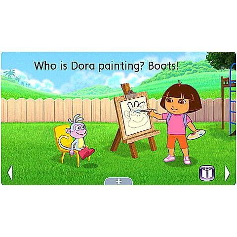 Dora the Explorer: Dora's Amazing Show Ultra eBook Ages 4-7 yrs. Free Shipping