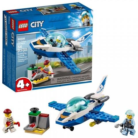 LEGO City Sky Police Jet Patrol 60206 Sale